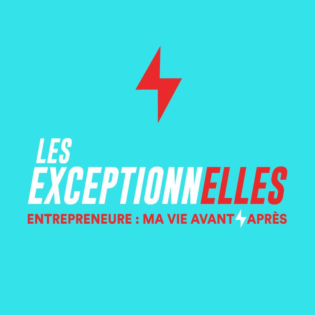 Logo du podcast Les ExceptionnElles lancé par l'incubateur Les Premières Sud